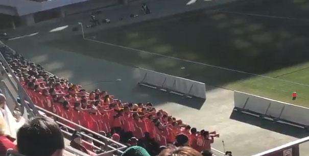 カースーテーラ大好き!全国高校サッカーで「謎のエール交換」 青森山田VS長崎総科大附は応援団も熱かった