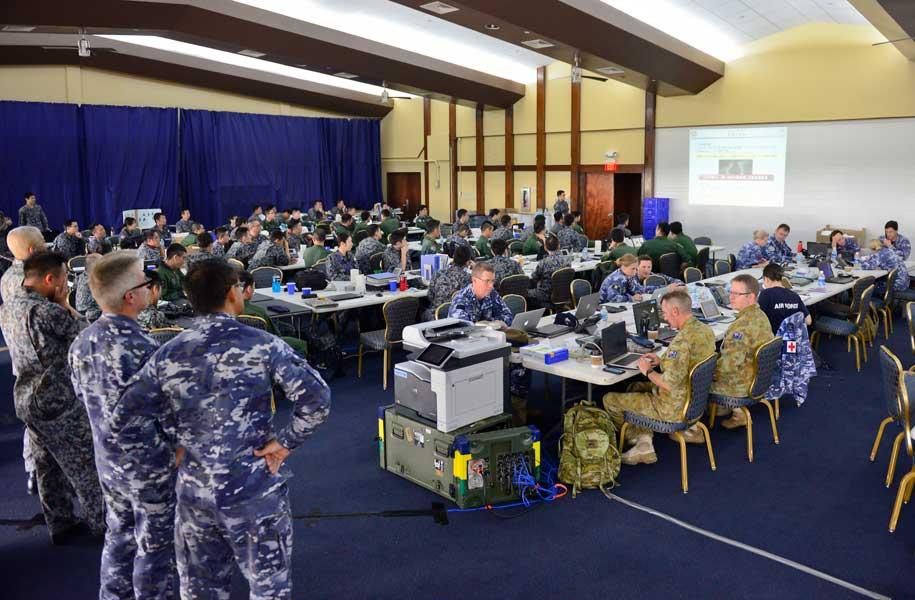 コープノース2018全体会合の様子(Photo:USAF)