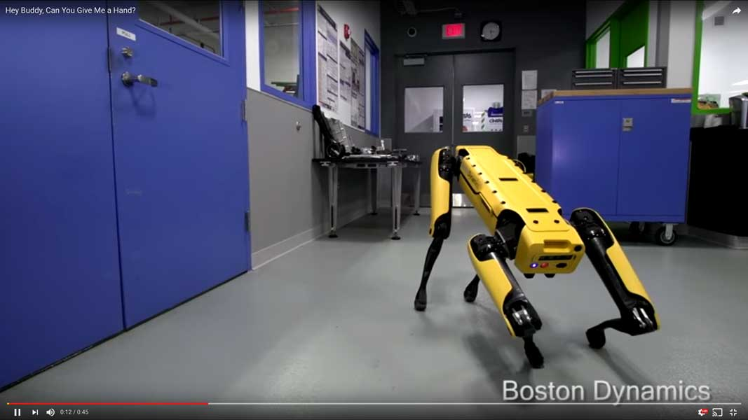 「ロボット は なかまを よんだ!」ボストン・ダイナミクスの新ロボット動画は連携プレイ