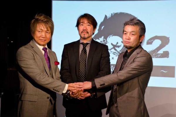 左から日高郁人さん、原雄司さん、小林さとしさん