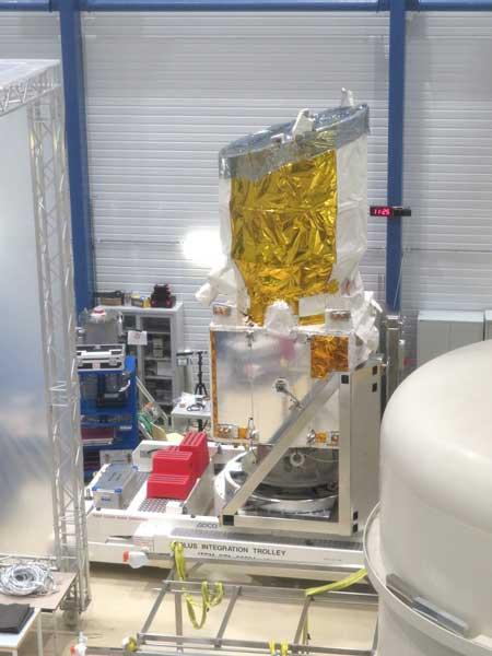 ESAの地球観測衛星アイオロス(Copyright:Airbus2018)