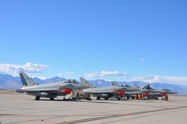 イタリア空軍がアメリカで敵防空網制圧訓練を実施中
