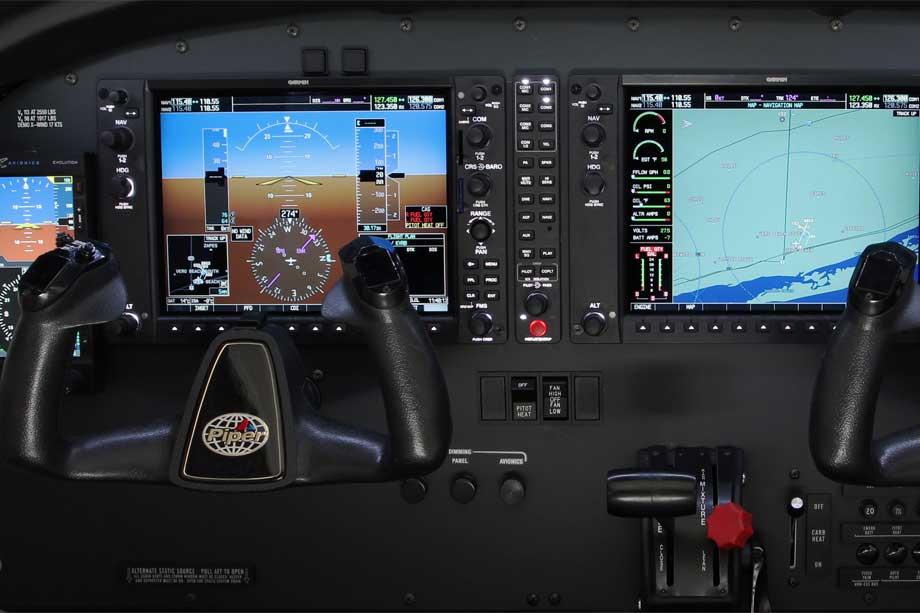 アーチャーの計器パネル((c)-Piper-Aircraft-Inc.)