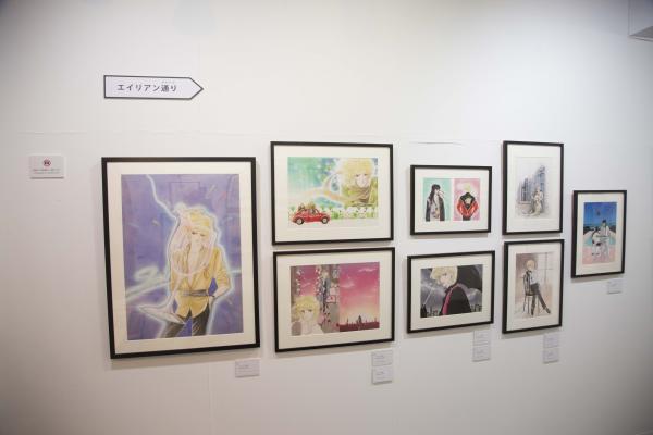 「エイリアン通り」「CIPHER」など生原画41点展示 成田美名子展が銀座で開催