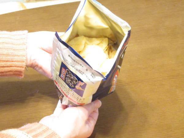 ポテチがめっちゃ取りやすい「スナックボウル開け」 確かにこれは良い!