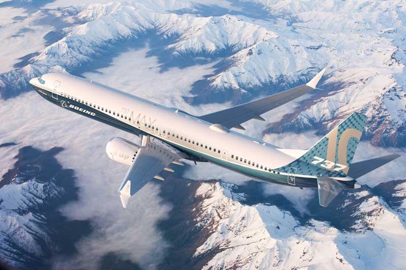 ボーイング、737MAX-10の仕様確定