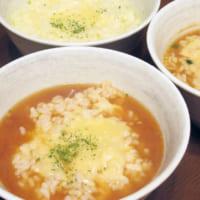 サッポロ一番新CMの、残ったスープで「チーズリゾット」 3種…
