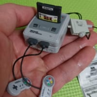 ガチャ用サイズのスーファミがめちゃくちゃ細かくてテンションあがる!