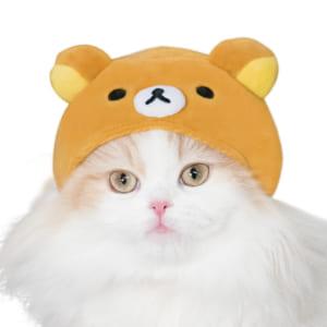 リラックマ×リアル猫=可愛いくて悶絶必至!猫の被り物シリーズに新作