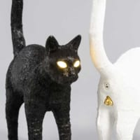 ピカーン!!リアルなイタリア発の猫型ランプ「fe…