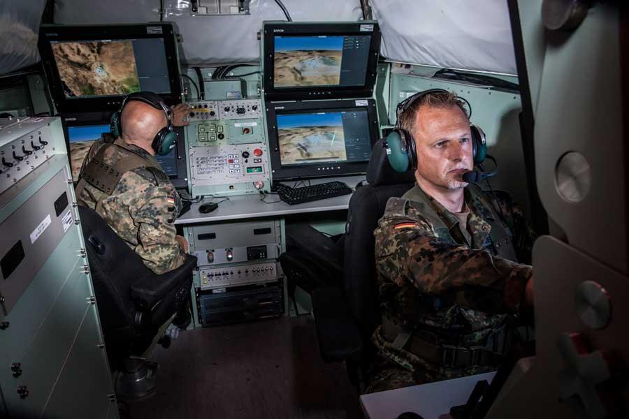 ミサイル管制室(image:MBDA Deutschland)