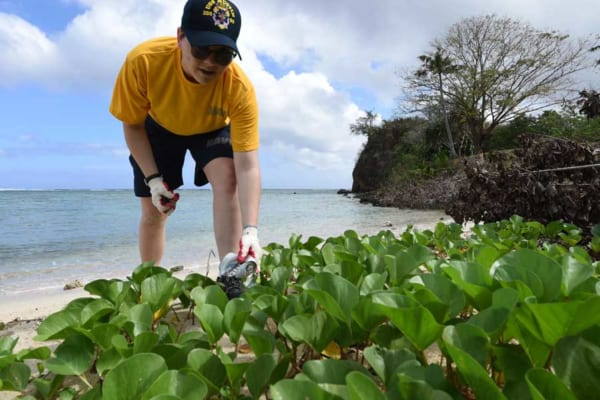 日米合同演習での「海を守る」もうひとつの活動