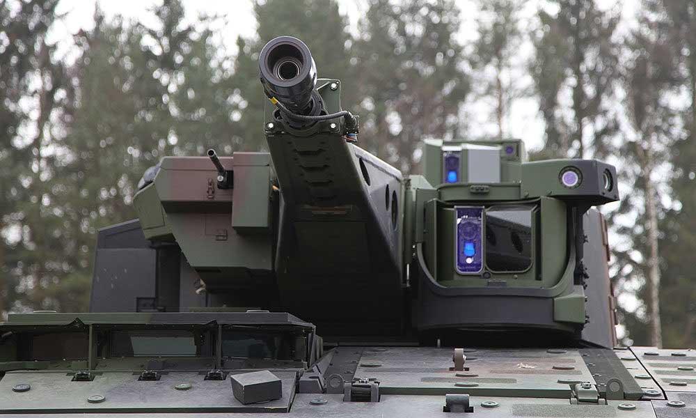 回転式砲塔LANCE(Image:Rheinmetall)