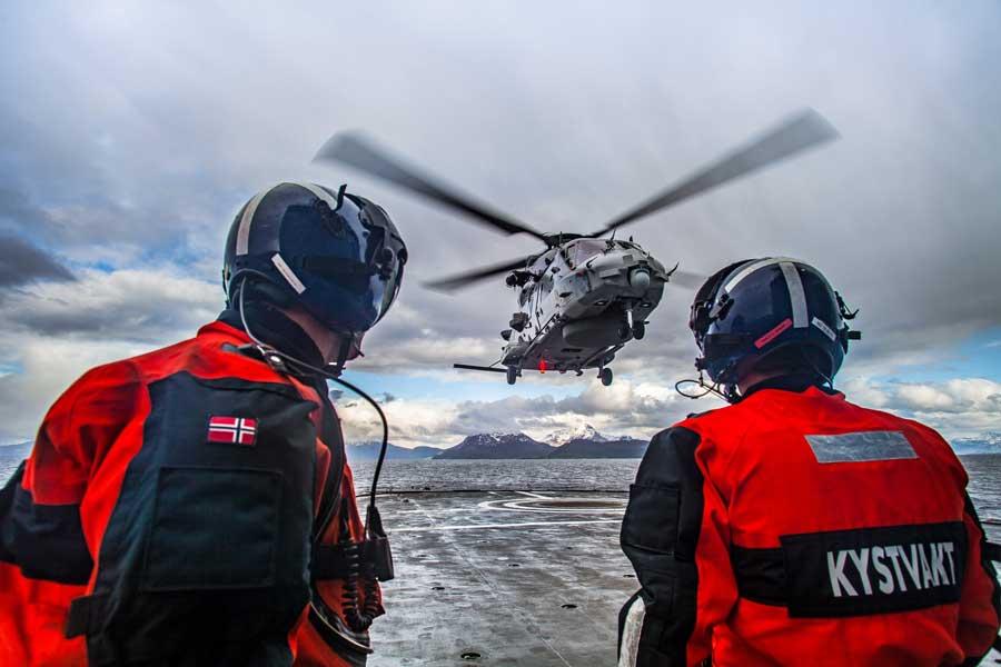 ノルウェー海軍のNH90(Image:NH Industries)