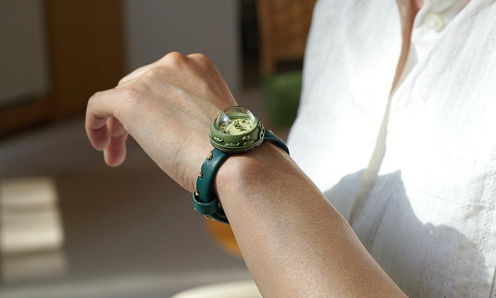「何?この時計!!」は誉め言葉。映画やドラマで引っ張りだこの「くるき亭」腕時計ができるまで