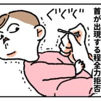 「そうはさせるか!」と鼻掃除を全力拒否するあかちゃんの姿にマ…