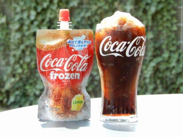 コカ・コーラ史上初!凍らせて飲む「コカ・コーラ フローズン レモン」を一足お先に体験してみた