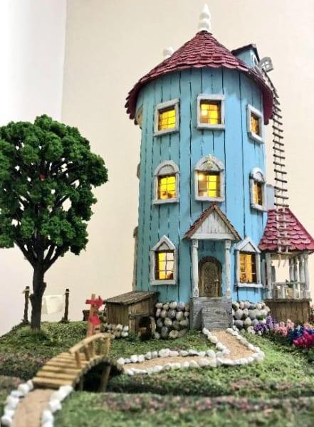 母が作ったムーミン屋敷のクオリティがものすごい!