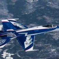 カナダ空軍CF-18デモ機、2018年は「NORAD60周…