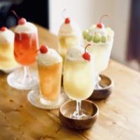 旬のフルーツをクリームソーダに!ミキサーで作るク…