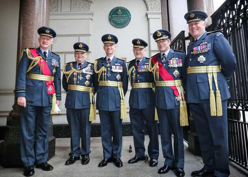 イギリス空軍創設100周年・記念イベントがスタート