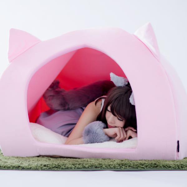 猫になりたい願望を叶える「人間用ペットハウス」まさかの登場