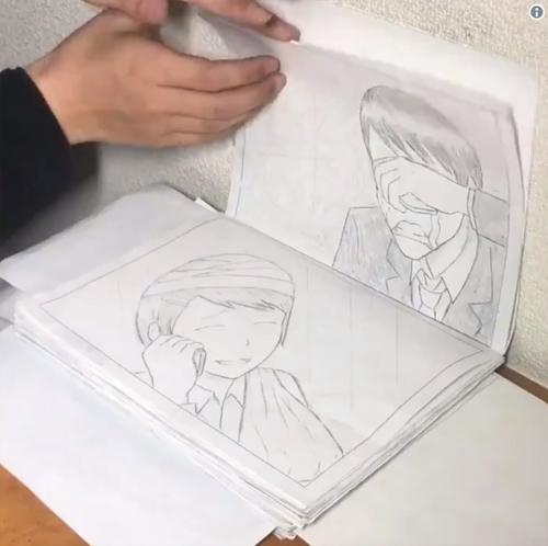 1冊のノートに描かれた「社畜紙芝居」がリアル過ぎてネット民号泣