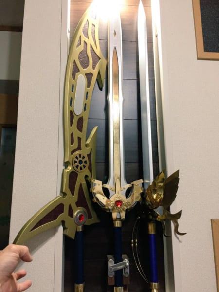 伝説の武器職人蘇る!「1/1伝説の剣」が作った本人も見とれるレベルにハイクオリティ