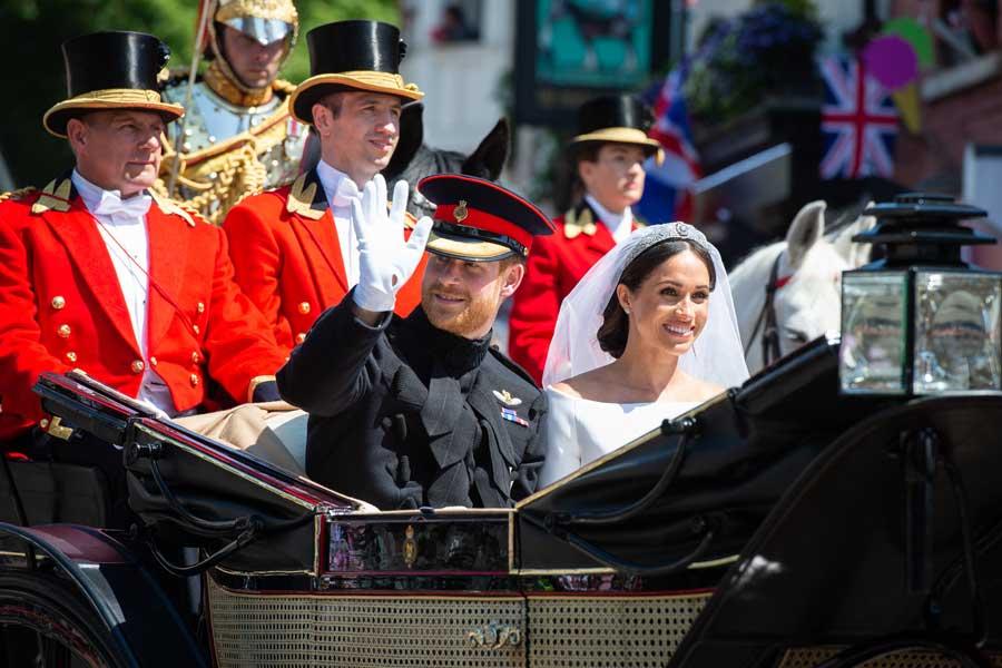イギリスのロイヤルウェディングにハリー王子ゆかりの部隊も参列