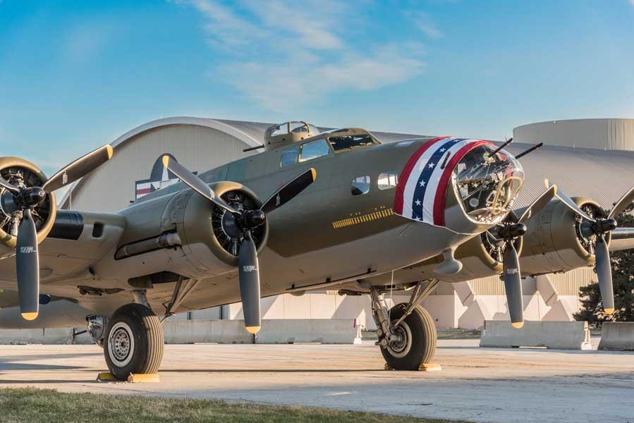 映画「メンフィス・ベル」のB-17実物がアメリカ空軍博物館で恒久展示へ