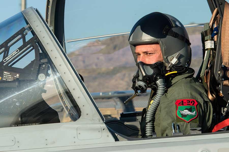 アフガニスタン空軍のA-29パイロット