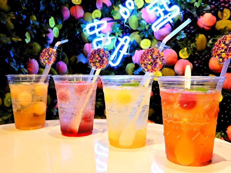 濃厚フルーツの楽園でプチリセット 渋谷に「アイスの実」ドリンクショップが期間限定オープン