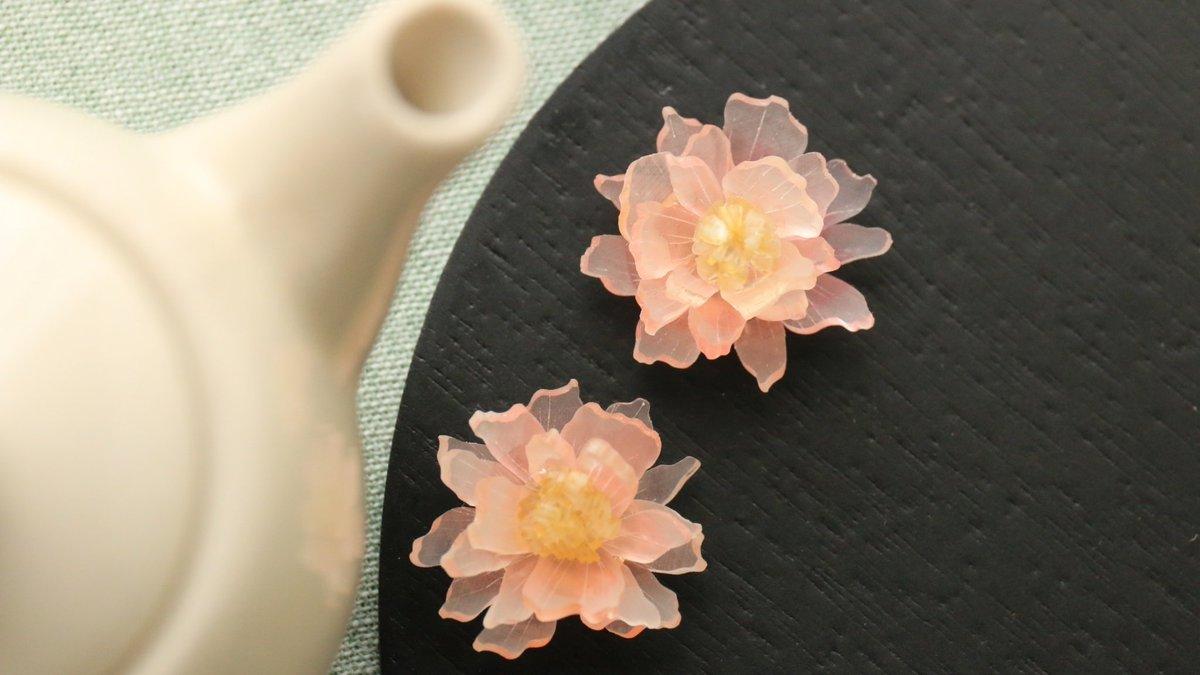 和菓子と思ったら「プラバン」だった!思わず食べてしまいそうな「プラバンの花」が話題