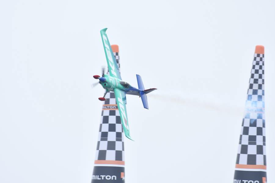 【レッドブル・エアレース】26日フリープラクティス速報・ホールとマクロードがトップ。室屋は8・10位
