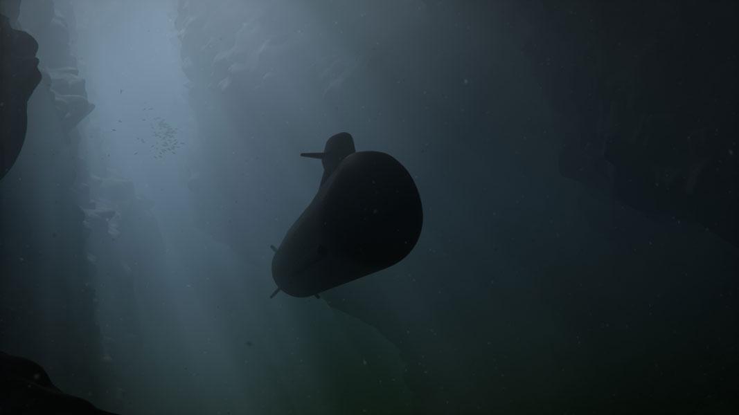 次世代潜水艦A26級のイメージ画像(Image:SAAB)