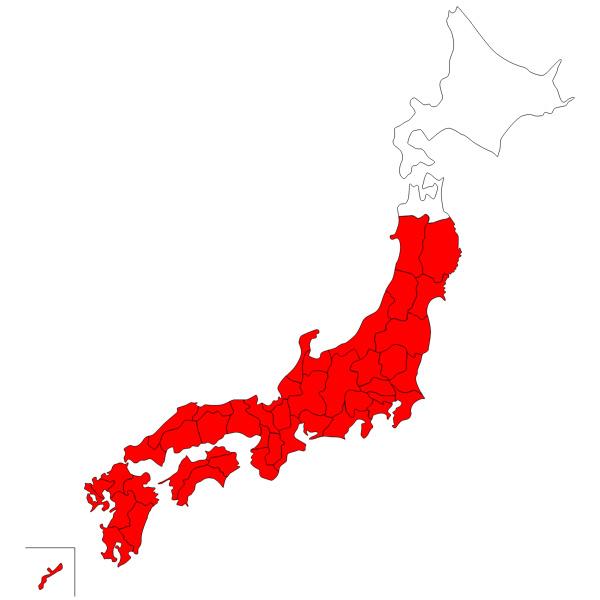 「エロ前線」到来予想 8月には北海道・青森以外全てがムラムラ地域入り