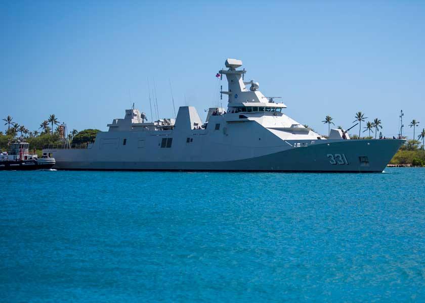 インドネシアのミサイルフリゲート、マルタディナータ(331)