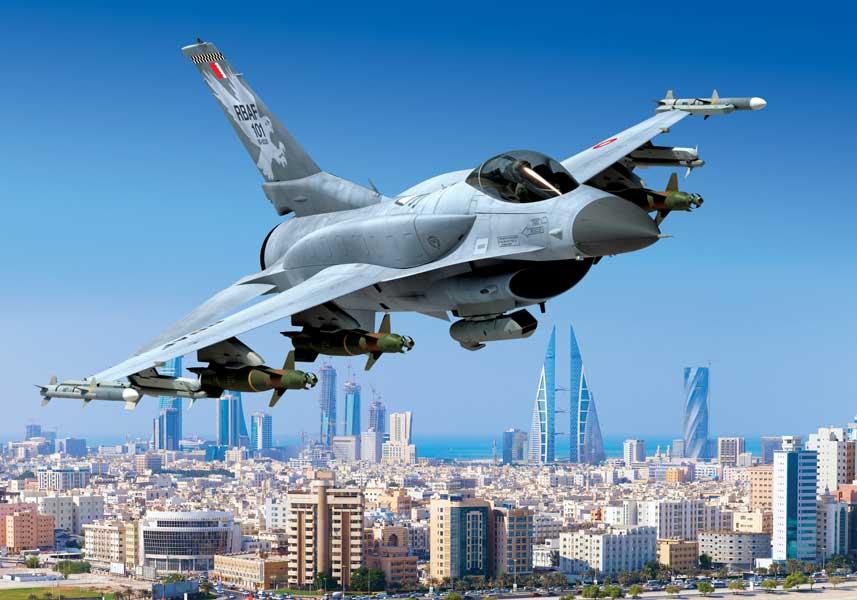 バーレーンがF-16最新型ブロック70を16機発注