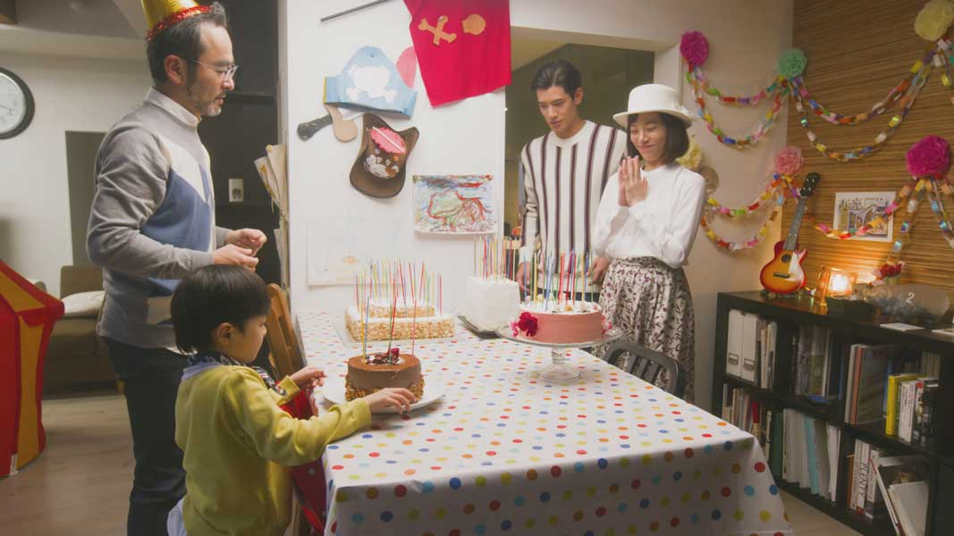 沖田修一監督の新作ショートフィルム「4つのお祝い」公開