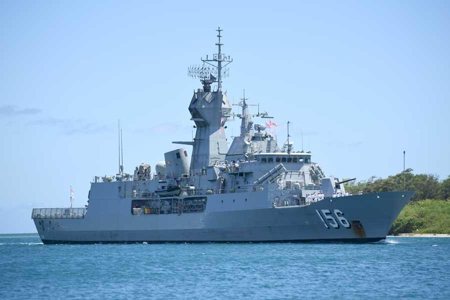 オーストラリアのフリゲート、トゥーンバ(FFH-156)