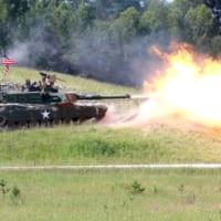 パンツァー・フォー!ドイツで8か国対抗戦車競技会…