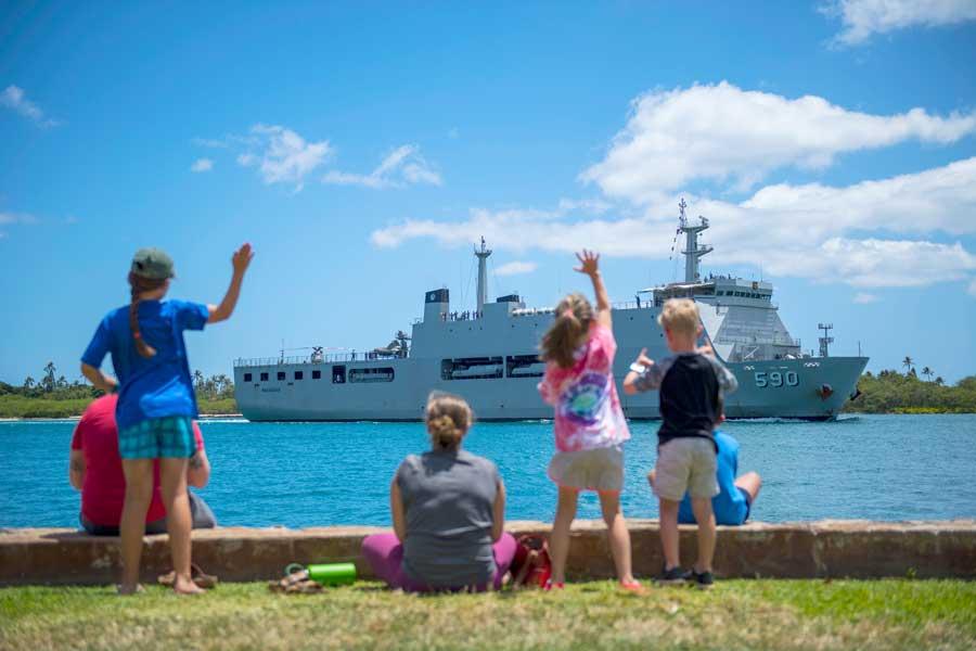 恒例の多国間共同訓練「RIMPAC2018」26か国が参加しハワイ周辺海域他でスタート