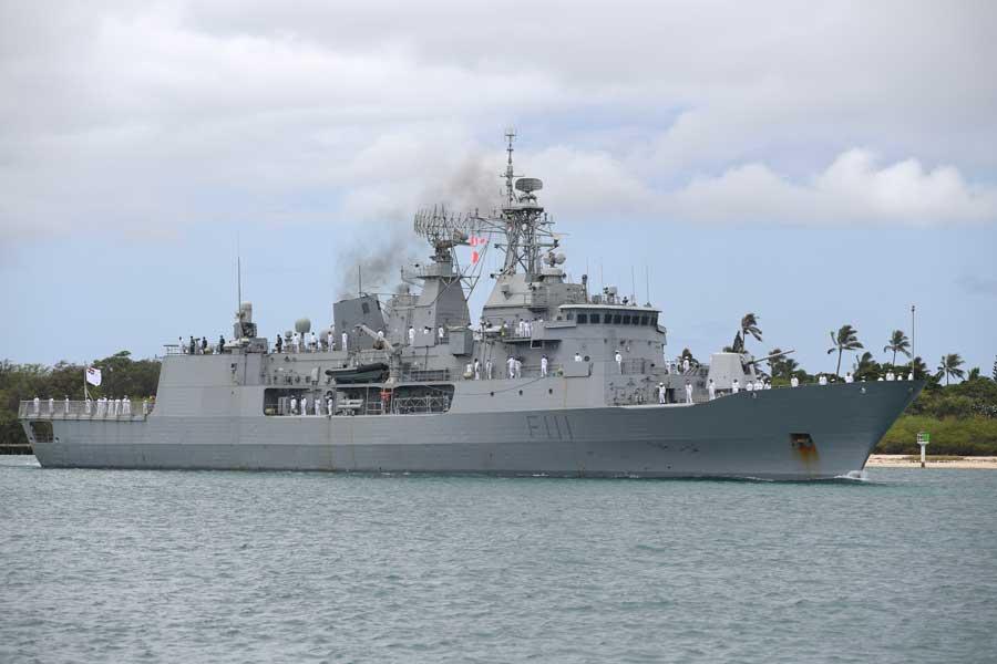 ニュージーランドのフリゲート、テ・マナ(F111)-