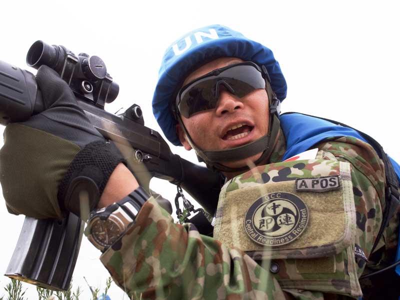 陸上自衛隊・中央即応連隊がモンゴルでの多国間共同PKO訓練に参加