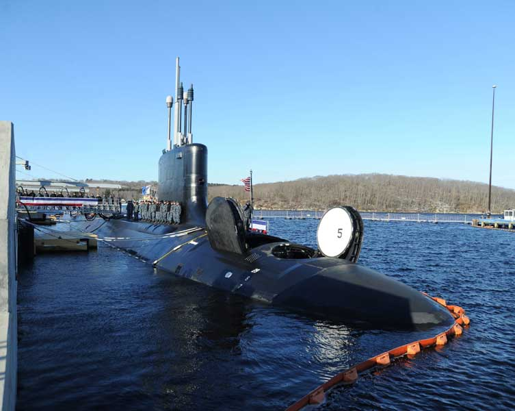 VPM扉を開いたバージニア級攻撃型原潜15番艦コロラド(SSN-788)