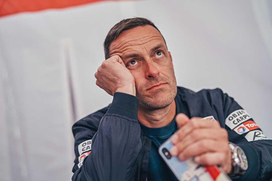 体調不良で欠場を決めたドルダラー選手(Balazs Gardi/Red Bull Content Pool)