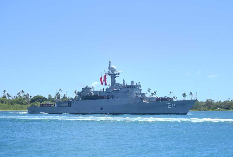 ペルー海軍の哨戒艦フェレ(PM-211)