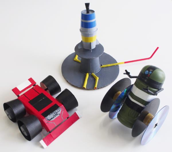 小学生の工作レベルを爆上げする「最強工作クラフトウォーズ」登場 剣やロボットなど憧れの作品つくれるぞ