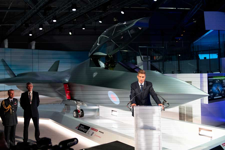 F-35の「次」イギリスが次世代戦闘機のコンセプトモデルを発表
