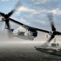 アメリカ海軍もオスプレイを発注 陸上自衛隊向け最終分も4機